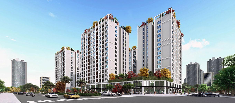 Mặt bằng Eco Smart City Cổ Linh Long Biên